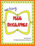 Writing Peer Biographies