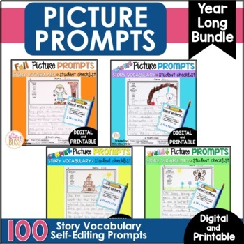 Writing Picture Prompts {The BUNDLE}