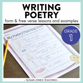Poetry Unit for Primary Grades