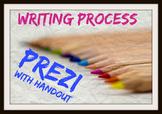 Writing Process Prezi with handout