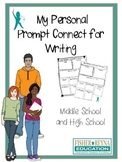 Writing Prompt Personal Connect - Test Prep MS and HS