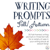 Writing Prompts: Autumn Is In The Air