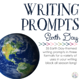 Writing Prompts: Earth Day