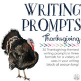 Writing Prompts: Giving Thanks