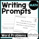 Writing Prompts for Middle School Math