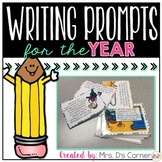 Writing Prompts for the Year { 500+ illustrated journal pr