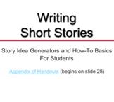 Narrative Writing: Short Stories - Presentation, Prompts,