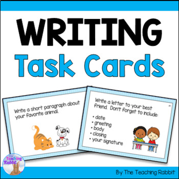 Writing Task Cards (Primary)
