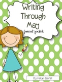 Writing Through May {Common Core aligned journal prompts}