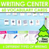 Writing Work Station for December