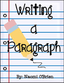Writing a Paragraph Made Easy (Common Core) For K and 1