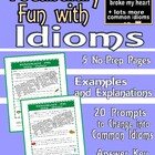 Writing and Vocabulary Fun: An Idiom by Any Other Name (3
