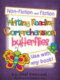 Writing/Reading Comprehension {All about BUTTERFLIES} Rese