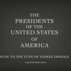 Chronological Yankee Doodle Presidents of the USA