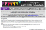Year 3 Australian Curriculum History Monitoring Tools