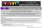 Year 4 Australian Curriculum History Monitoring Tools