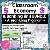 Classroom Economy, Banking, Check Writing & MORE!  Year-Lo