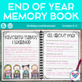 End of Year Booklet!  Yearbook Pages!