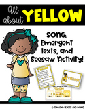 Yellow - Song and Emergent Texts!