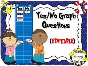 Yes/No Graph Questions in a Nautical Theme