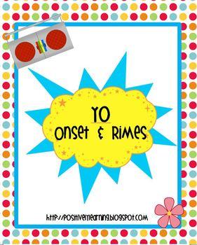 Yo Onset and  Rimes
