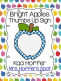 You Got It? Posters {Bright Apple}