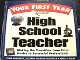 Your First Year As a High School Teacher