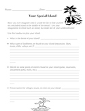 Your Special Island - Mapping and Creative Writing Project