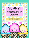 Yummy! Long/Short U Activity