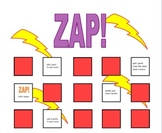 ZAP!  An assessment game for any subject!
