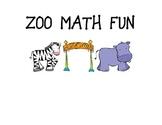 ZOO Animal Math Centers
