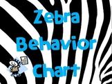 Zebra Behavior Management Posters