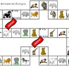 Zoo Animal Overhead or Table Top Board Game