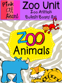 Zoo Animals Bulletin Board Set