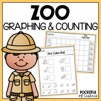 Zoo Cube Roll Math Game