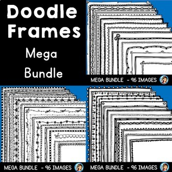 Page Borders / Frames Mega Bundle
