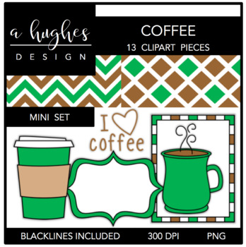 coffee Mini Set {Graphics for Commercial Use}