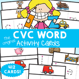 cvc Words Write and Wipe Cards - Print, Laminate, Write & Learn!