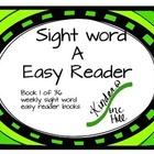 easy reader A book