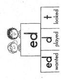 /ed/ sort on sounds, (t, ed, d)