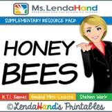 HONEY BEES Teacher Pack by Ms. Lendahand:)