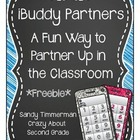 iBuddy Partners {A Fun Way to Partner Up in the Classroom}