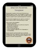 iPad Pinterest Template
