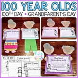 little 100 year olds {a craftivity for grandparent's day o