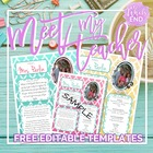 #meetmyteacher All About the Teacher {Back to School Printables}
