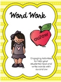 ou/ow Word Work Activities