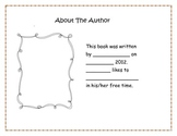 simple book for writers workshop