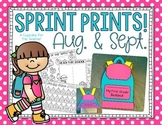 Sprint Prints! August & September {Printables & Craftivity}
