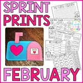 Sprint Prints! February {Printables & Craftivity}