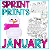Sprint Prints! January {Printables & Craftivity}